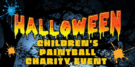 Children's Halloween Paintball Charity Event 1 pm Slot tickets