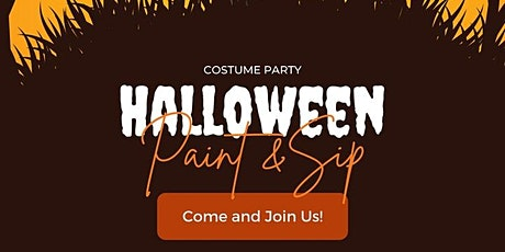 Halloween SIP AND PAINT PARTY @Phiri Art GALLERY (OCTOBER 31st 4pm - 7PM ) tickets