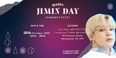 Happy Jimin Day Cup Sleeve Event tickets