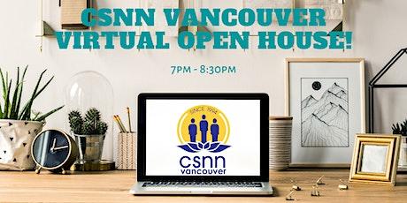 CSNN Virtual Open House - Mental Well-Being tickets