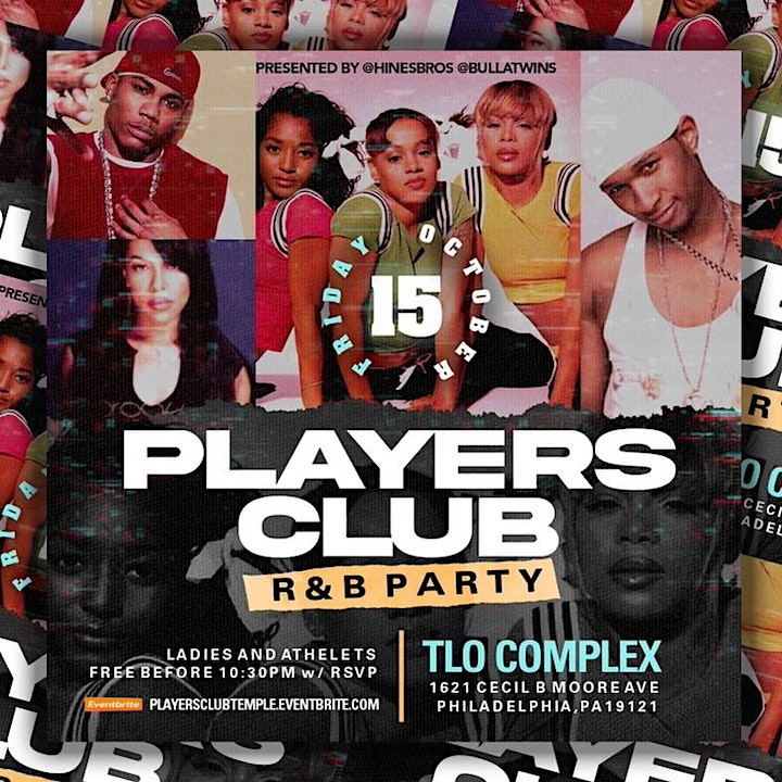 The Players Club :  R & B Party image