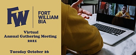 Fort William BIA 2021 Annual General Meeting tickets