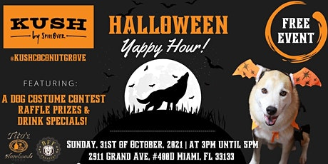 4th Annual Halloween Yappy Hour at Kush Coconut Grove tickets