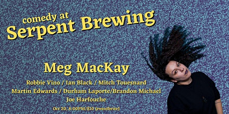 Comedy at Serpent Brewing tickets