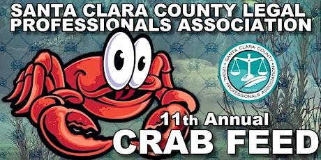 Santa Clara County Legal Professionals Association 11th Annual Crab Feed tickets