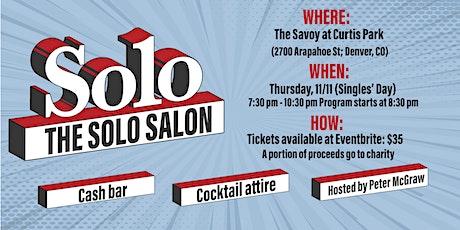 The Solo Salon tickets