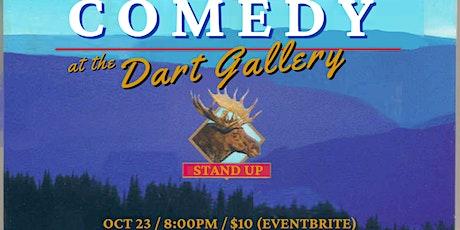 Comedy at The Dart Gallery: Everardo Ramirez tickets