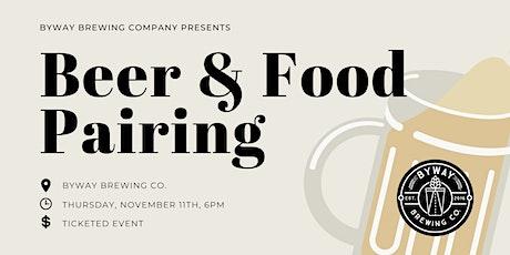 Beer & Food Pairing tickets
