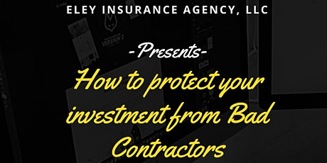 How to Protect Yourself from Bad Contractors tickets
