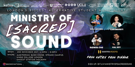 Ministry of Sacred Sound tickets