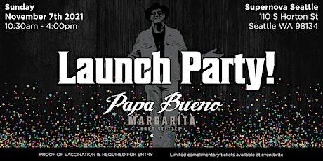 Papa Bueno Margarita Hard Seltzer Launch Party tickets