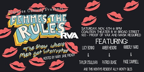 Femmes the Rules tickets