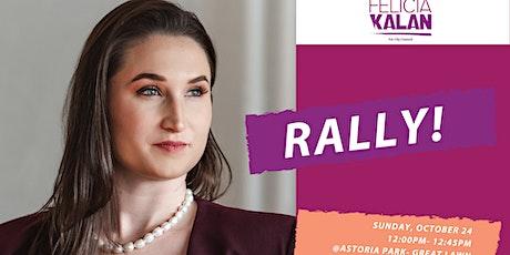 GOTV Rally: Felicia Kalan for New York City Council District 22 tickets