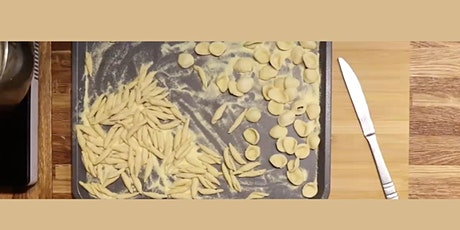 Semolina Pasta shapes ,  s/w rocket and walnut pesto -OR Basil Pesto tickets