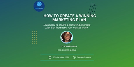 How to Create a Winning Marketing Plan tickets