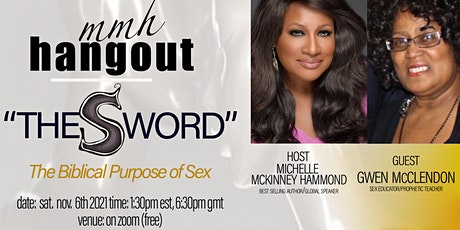 """MMH hangout """"The S Word"""" (the biblical purpose of sex) tickets"""