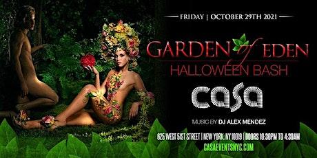 Garden of Eden Halloween Bash tickets
