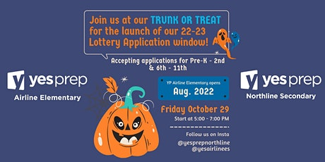 YES Prep Trunk or Treat Lottery Kickoff tickets