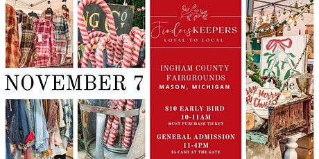 Finders Keepers Market in Mason, Michigan tickets