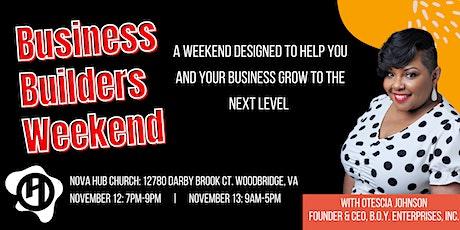 Business Builders Weekend tickets