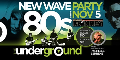 80s New Wave Party with The Underground tickets