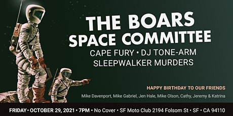 Belated Birthday Blowout! • Friday 10/29 • SF Motorcycle Club • 7pm • Free! tickets