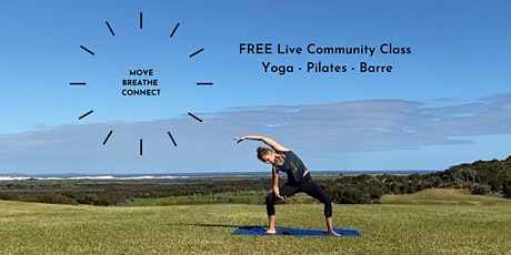 Free Live Online Community Exercise Class tickets