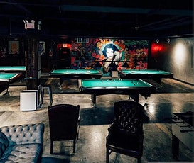 A COMPLIMENTARY BILLIARDS, PING PONG, AND DRINK GAME NIGHT SOCIAL! tickets