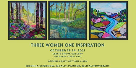 THREE WOMEN ONE INSPIRATION: Donna Chudnow, Galit Liffshiz, Lisa Litowitz tickets