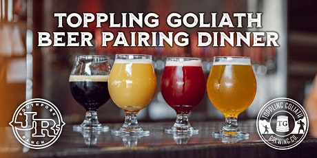 Toppling Goliath Beer Dinner at JR's Southpork Ranch tickets