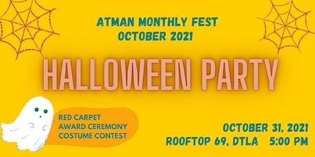 Atman Film Fest Halloween Party tickets