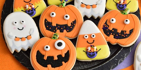Virtual Halloween Cookie Decorating Class and Costume Contest (Ages 5-12) tickets