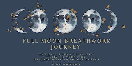 Full Moon in Aries Breathwork Journey  Virtual tickets