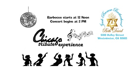 Chicago Tribute Band Concert and BBQ tickets