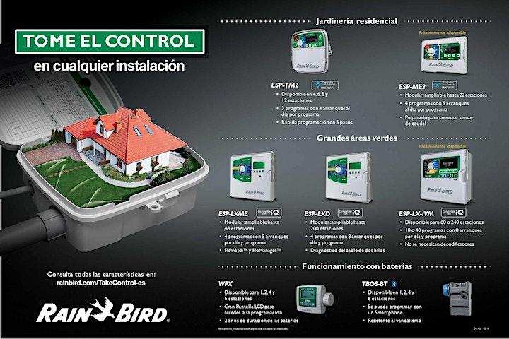 Imagen de Tome el control de cualquier instalación (Controladores Rain Bird)