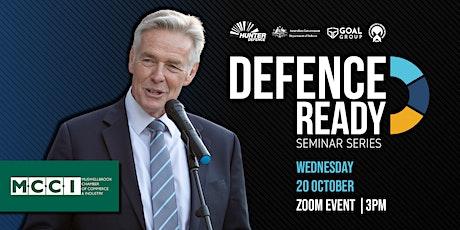 Defence Ready - Seminar Series tickets