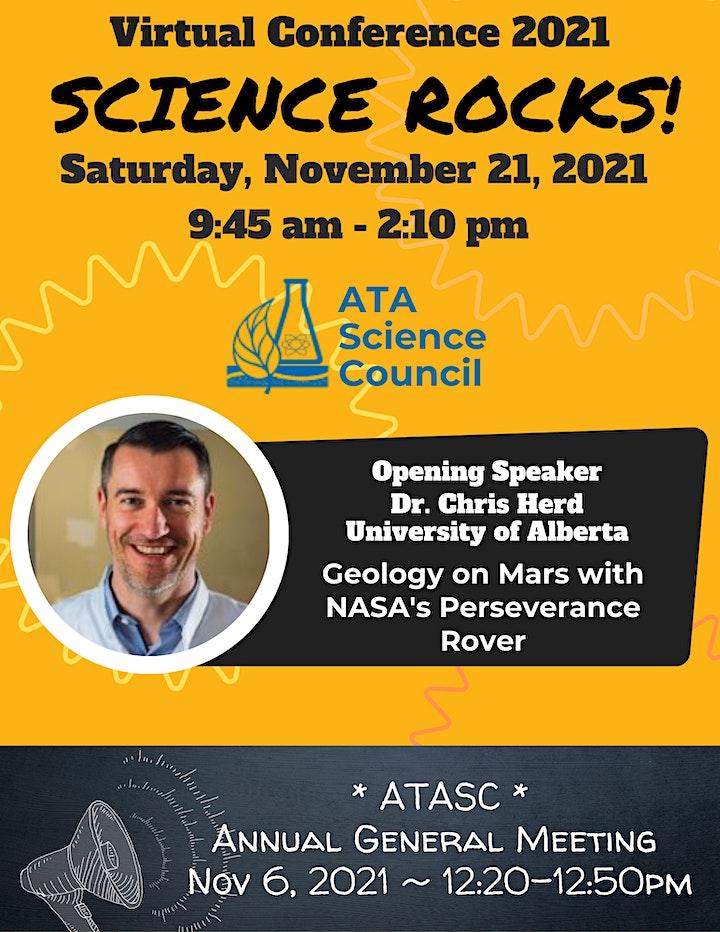 Science Rocks! ATA Science Council Virtual Conference 2021 image