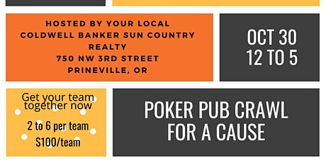 3rd Annual Poker Pub Crawl for a Cause tickets