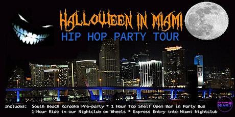 MIAMI SATURDAY  HALLOWEEN  HIP HOP PARTY TOUR tickets