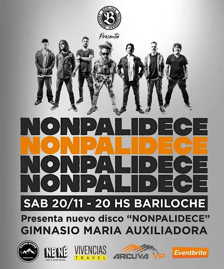 """Imagen de Nonpalidece en Bariloche presenta su nuevo disco """""""
