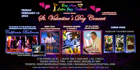 2nd Annual St. Valentine's Day Concert at the California Ballroom tickets
