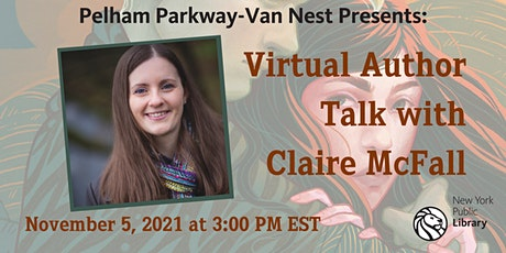 Author Talk with Claire McFall tickets