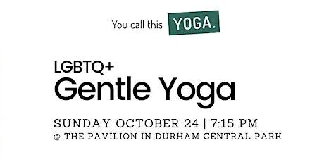 LGBTQ+ Gentle Yoga tickets