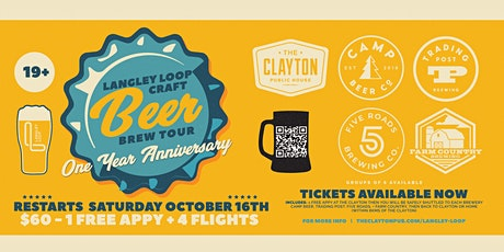 LANGLEY LOOP BREW TOUR tickets