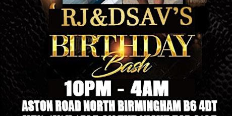 RJ & DSAV'S BIRTHDAY PARTY!! tickets