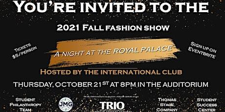 2021 Fall Fashion Show tickets