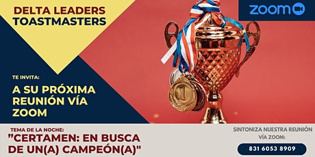 Reunión Bi-Semanal Delta Leaders Toastmasters bilhetes