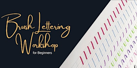 Brush Pen Lettering Calligraphy Workshop-Montreal tickets