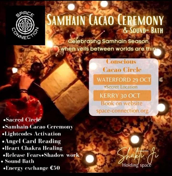 Cacao Ceremony & Samhain Soundbath image