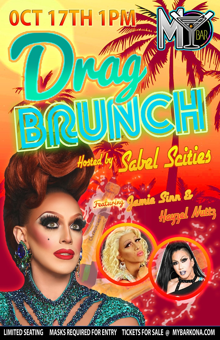 DRAG BRUNCH @MY BAR! with SABEL SCITIES image
